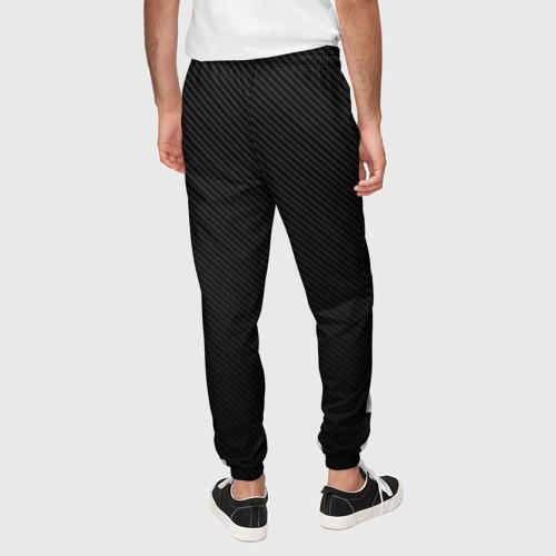 Мужские брюки 3D с принтом Hocage вертикально, вид сзади #2