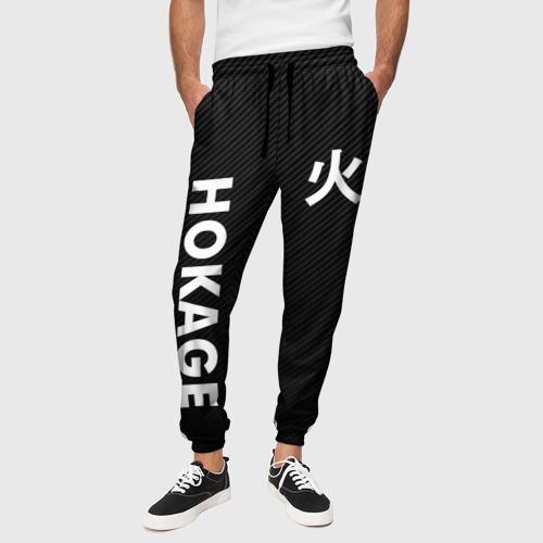Мужские брюки 3D с принтом Hocage вертикально, вид сбоку #3