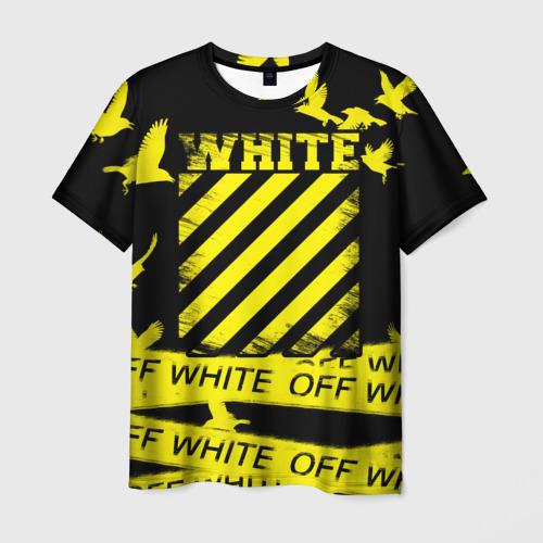 Мужская 3D футболка OFF White 2
