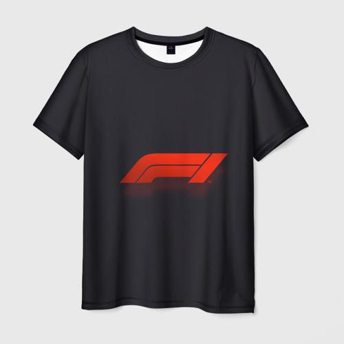 Мужская 3D футболка Formula 1 Logo