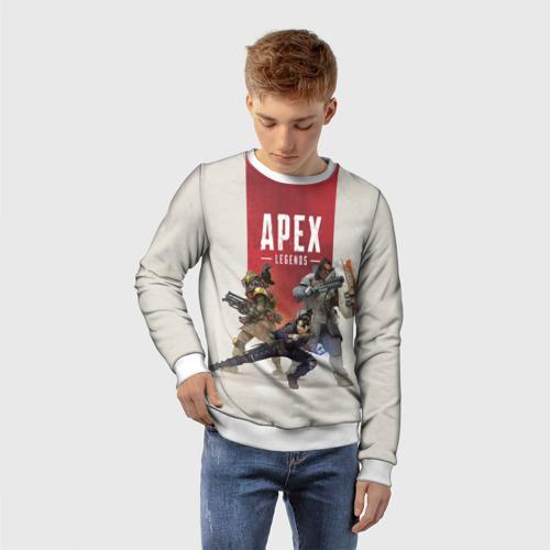 Детский 3D свитшот с принтом APEX LEGENDS, фото на моделе #1