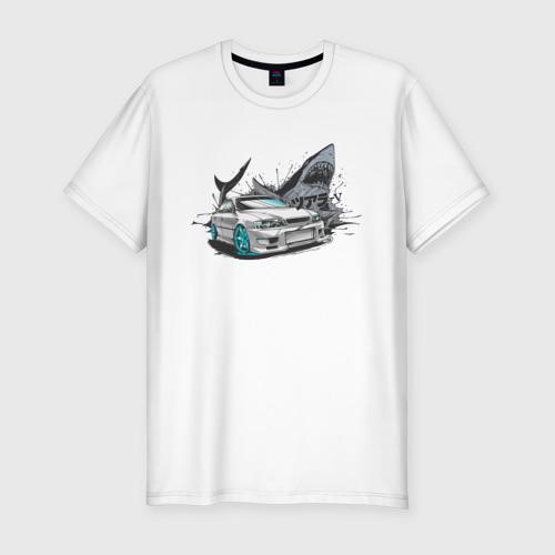 Мужская футболка премиум Toyota Chaser 100