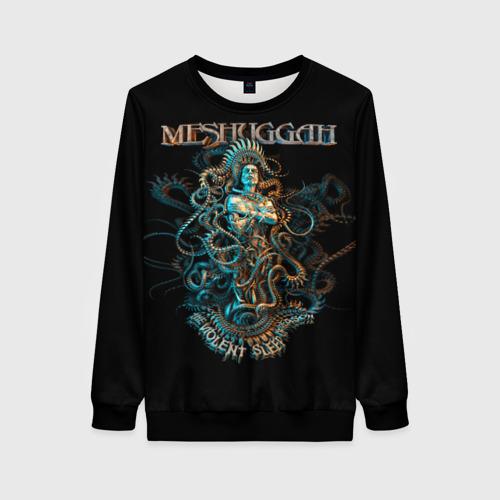 Женский 3D свитшот Meshuggah