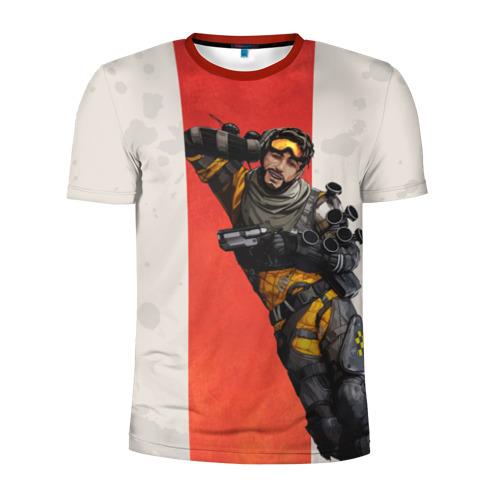 Мужская футболка 3D спортивная APEX LEGENDS - Mirage