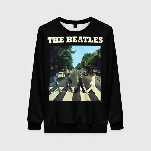 Женский 3D свитшот The Beatles