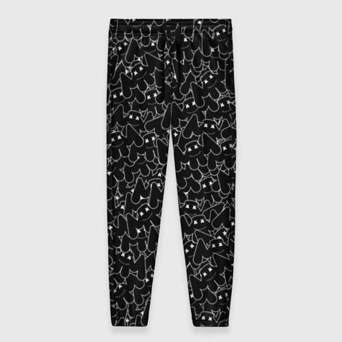 Женские брюки 3D ШТАНЫ MARSHMELLO BLACK