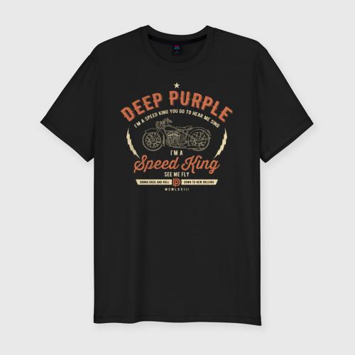Мужская футболка премиум Deep Purple