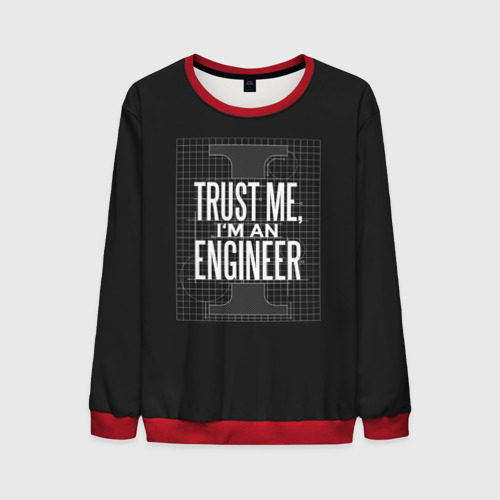 Мужской 3D свитшот Trust Me, I'm an Engineer