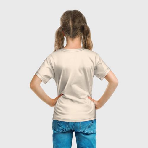 Детская 3D футболка с принтом Hello Neighbor, вид сзади #2