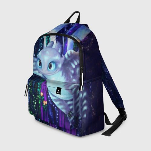 Рюкзак 3D с принтом Как приручить дракона, вид спереди #2