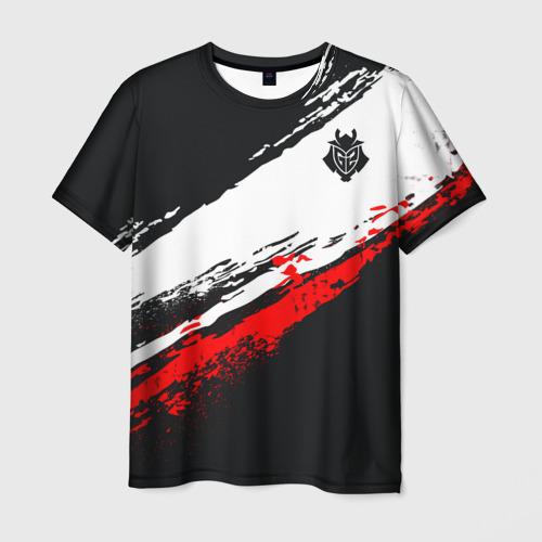 Мужская 3D футболка Cs:go - G2 eSports (The Form 2