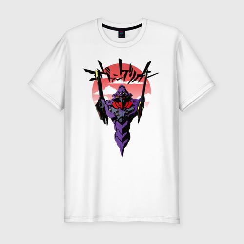 Мужская футболка премиум Евангелион