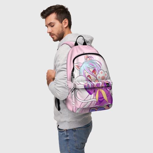 Рюкзак 3D с принтом Аниме лапки, фото на моделе #1