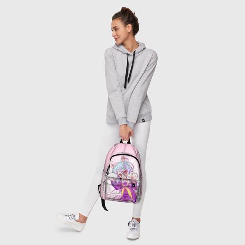 Рюкзак 3D с принтом Аниме лапки, фото #6