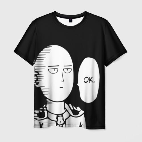 Мужская 3D футболка One Punch Man