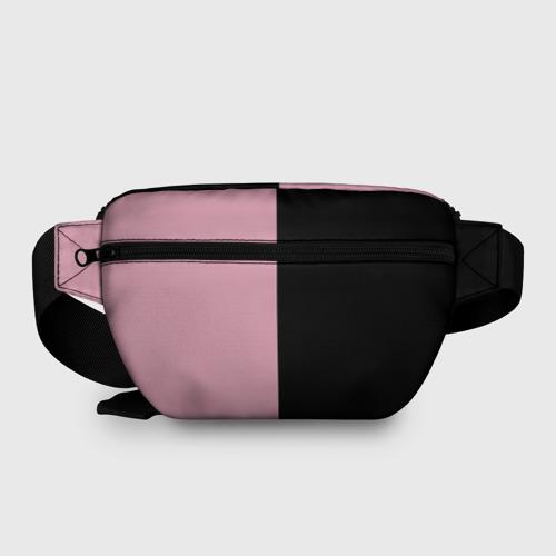 Поясная сумка 3D с принтом BlackPink, вид сзади #1