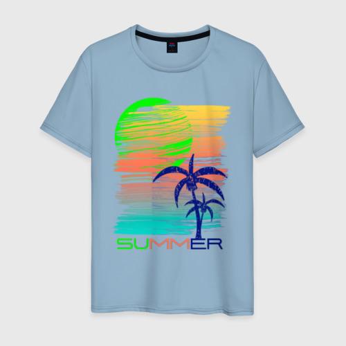 Мужская футболка Лето