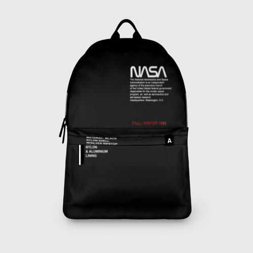 Рюкзак 3D с принтом NASA | НАСА, вид сбоку #3