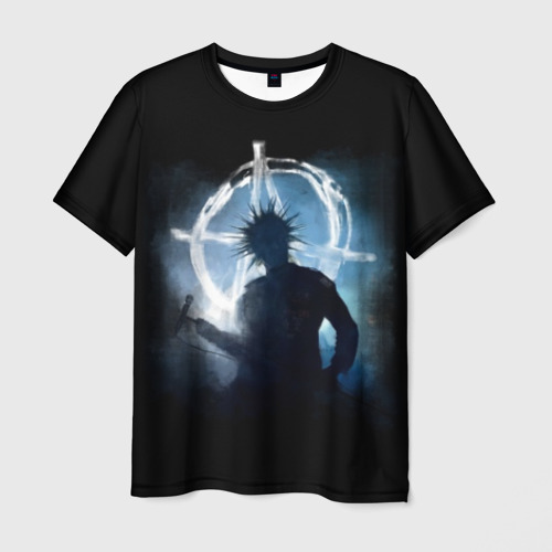 Мужская 3D футболка Горшок