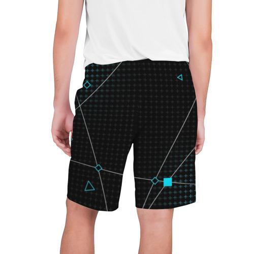 Мужские шорты 3D с принтом ПРОГРАММИСТ, вид сзади #1
