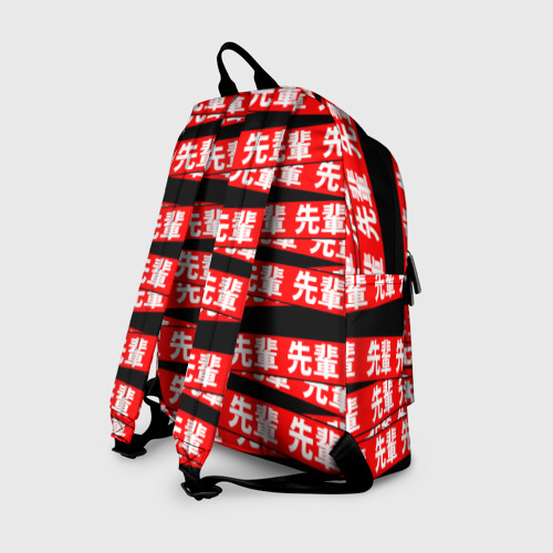 Рюкзак 3D с принтом Anime (Senpai 8), вид сзади #1