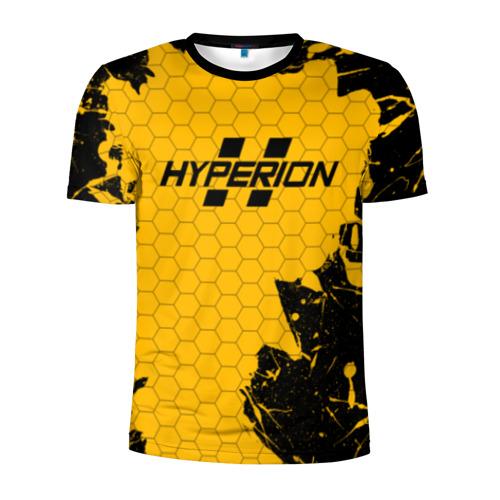 Мужская футболка 3D спортивная с принтом BORDERLANDS HYPERION, вид спереди #2