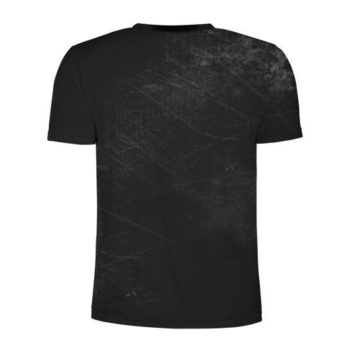 Мужская футболка 3D спортивная с принтом Rammstein, вид сзади #1