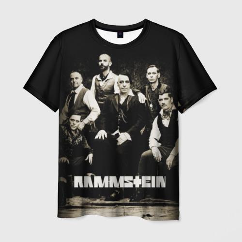 Мужская 3D футболка Rammstein