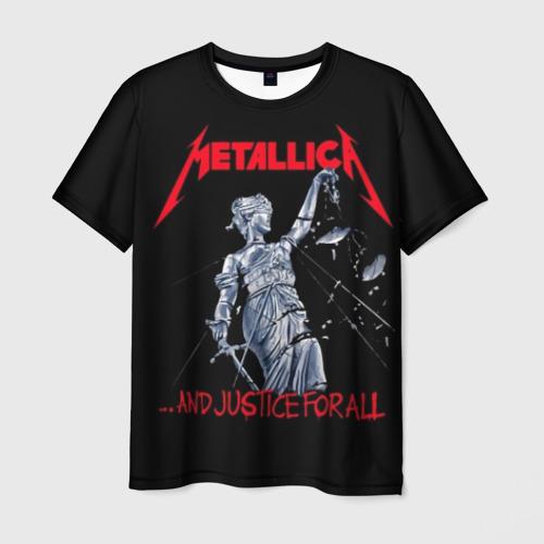 Мужская 3D футболка с принтом METALLICA   МЕТАЛЛИКА   МЕТАЛИКА, вид спереди #2