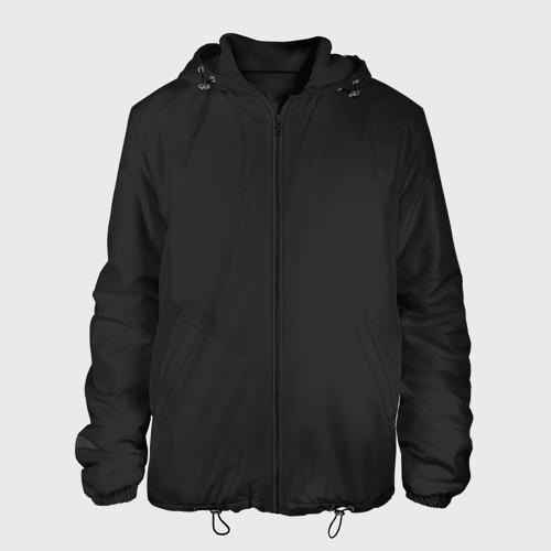 Мужская куртка 3D с принтом Cyberpunk 2077, вид спереди #2