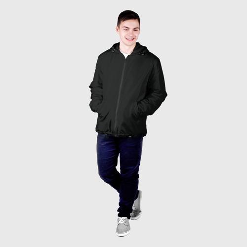 Мужская куртка 3D с принтом Cyberpunk 2077, фото на моделе #1