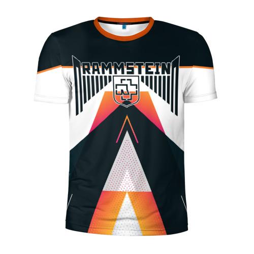 Мужская футболка 3D спортивная Rammstein
