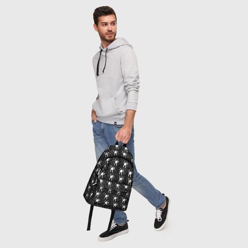 Рюкзак 3D с принтом ЪУЪ, фото #5