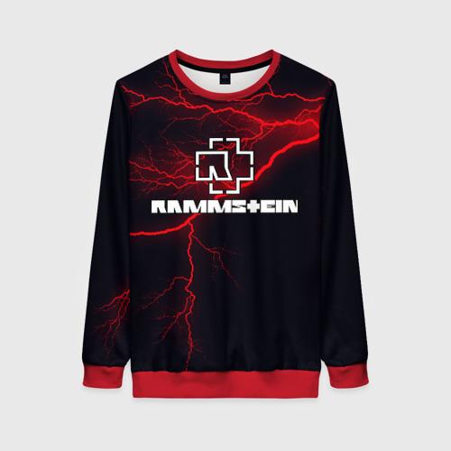 Женский 3D свитшот Rammstein
