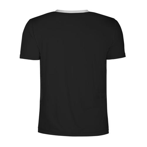 Мужская футболка 3D спортивная с принтом Лавкрафт, вид сзади #1