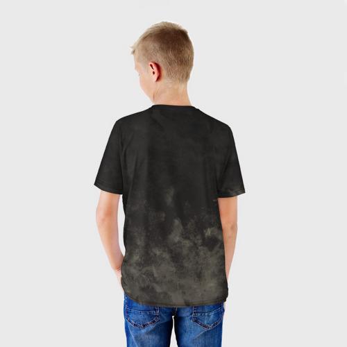 Детская 3D футболка с принтом Children, вид сзади #2
