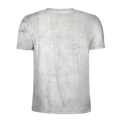 Мужская футболка 3D спортивная с принтом Скандинав, вид сзади #1