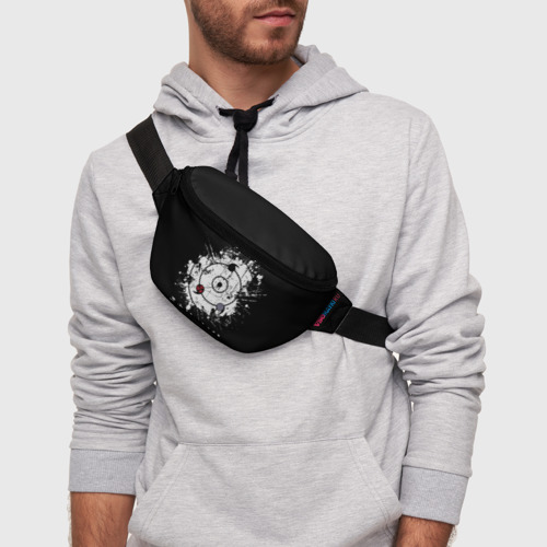 Поясная сумка 3D с принтом Naruto Shippuden, фото на моделе #1