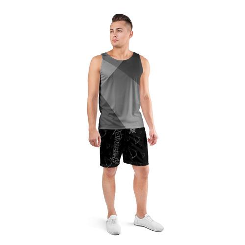 Мужские шорты 3D спортивные с принтом METALLICA   МЕТАЛЛИКА, вид сбоку #3