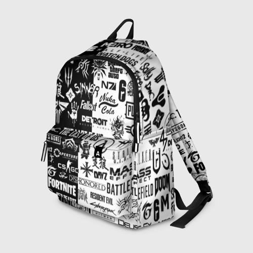 Рюкзак 3D ЛОГОТИПЫ ИГР | LOGO GAMES