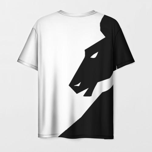 Мужская 3D футболка с принтом TEAM LIQUID | ТИМ ЛИКВИД, вид сзади #1