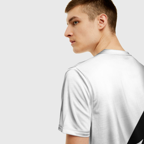 Мужская 3D футболка с принтом TEAM LIQUID | ТИМ ЛИКВИД, вид сзади #2