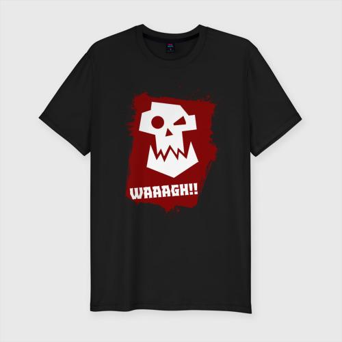Мужская футболка премиум WAAAGH!!