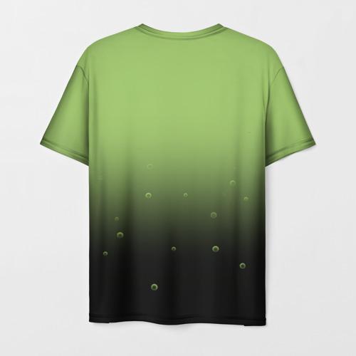 Мужская 3D футболка с принтом Solenya, вид сзади #1