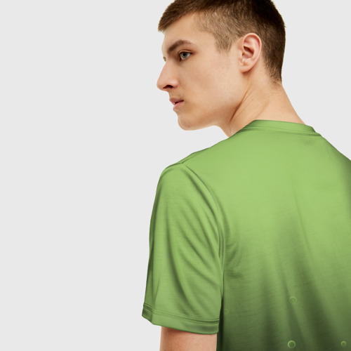 Мужская 3D футболка с принтом Solenya, вид сзади #2