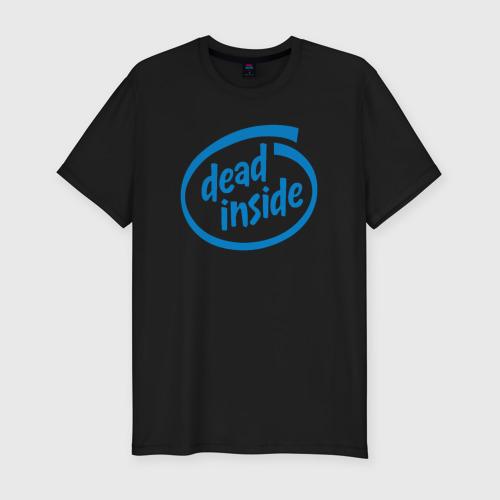 Мужская футболка премиум Dead inside