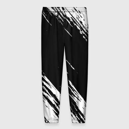 Мужские брюки 3D с принтом MARSHMELLO, вид сзади #1