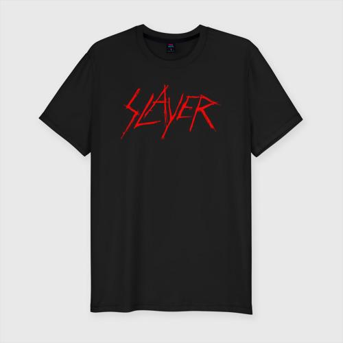 Мужская футболка премиум с принтом SLAYER (5), вид спереди #2