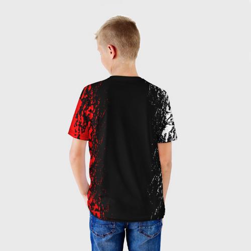 Детская 3D футболка с принтом GARENA FREE FIRE, вид сзади #2