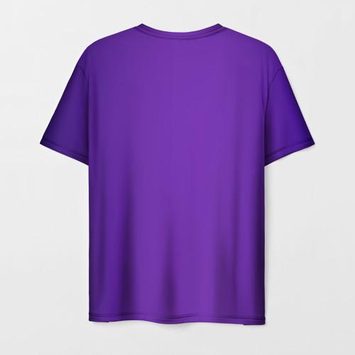 Мужская 3D футболка с принтом Назад в 90, вид сзади #1